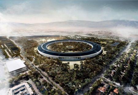 Choang ngop truoc khuon vien lam viec moi cua Apple – Apple Park - Anh 23