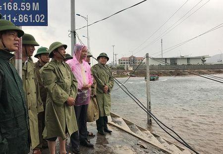 Thanh Hoa: Thiet hai khong lon do chu dong doi pho bao so 10 - Anh 1