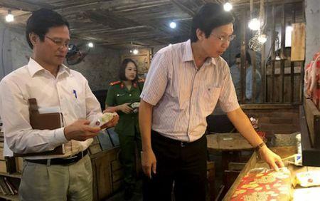 Ha Noi: Tam dinh chi nhieu co so san xuat, kinh doanh banh trung thu - Anh 1