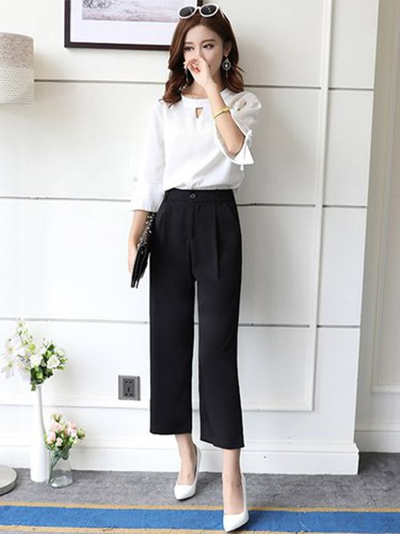 Cu dien quan culottes theo cach nay chi co dep mien che - Anh 7