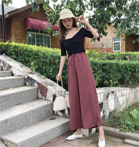 Cu dien quan culottes theo cach nay chi co dep mien che - Anh 9