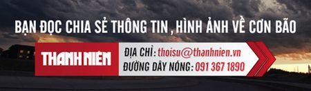 Hoan luu bao gay nguy co ngap nang tu Quang Binh den Quang Nam - Anh 1
