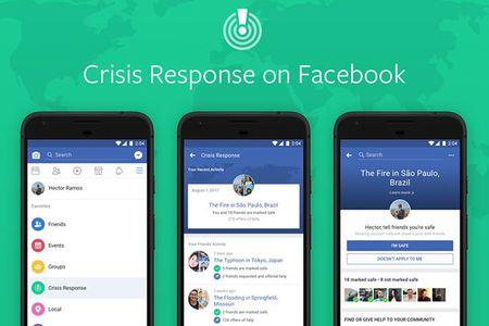 Facebook trien khai tinh nang Crisis Response - Anh 1