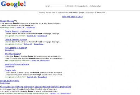 Google.com duoc tao ra 20 nam truoc, day la giao dien dau tien cua no - Anh 2