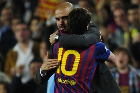 Guardiola: 'Mbappe u? Chang ai co the ngoi chung mam voi Messi' - Anh 2