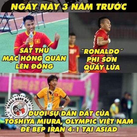 Biem hoa 24h: CDV hoi tuong ngay Olympic Viet Nam da nhu 'len dong' - Anh 5