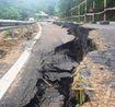 Thanh Hóa: Cận cảnh vết nứt toác, sụt lún khổng lồ trên QL 217