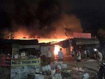 Hà Tĩnh: Cháy chợ Bộng gây thiệt hại hơn 2 tỷ đồng
