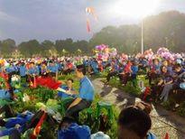 Sức trẻ thanh niên tình nguyện trong ngày Quốc Khánh