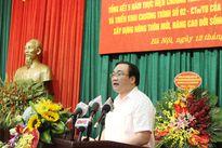Bí thư Hoàng Trung Hải: Lấy người dân làm trung tâm trong xây dựng nông thôn mới