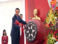 Bộ Trưởng Bộ Công an Tô Lâm dự lễ khai giảng tại Trường trung học phổ thông chuyên Bắc Ninh