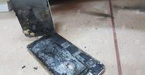 iPhone 6S cháy nổ sau khi sạc pin