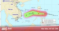 Bão Nock-ten mạnh lên thành siêu bão tiến vào Biển Đông