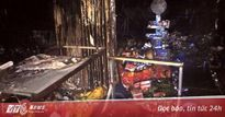 Cháy nổ 4 ki ốt ở Sài Gòn trong đêm, 2 người bỏng nặng