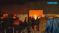 Cháy lớn tại công ty Việt Nam Suzuki, thiệt hại hàng tỉ đồng