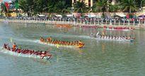 Náo nức lễ hội Đua thuyền truyền thống ở Phan Thiết