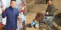 Nằm liệt giường vì ngã khi đóng phim, Lưu Đức Hòa phải sửa nhà để di chuyển bằng xe lăn