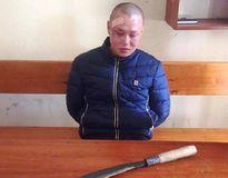 Nam thanh niên dùng dao chém đại úy công an