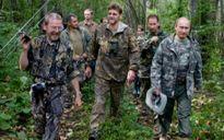 Tổng thống Putin dã ngoại qua đêm trong rừng Taiga