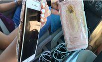 Chiếc iPhone 7 Plus phát hỏa không rõ lý do
