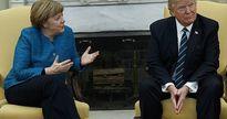 Ông Trump lạnh lùng từ chối bắt tay bà Merkel ở phòng Bầu dục