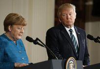 Toàn cảnh cuộc gặp gỡ 'khác lạ' giữa ông Trump và bà Merkel