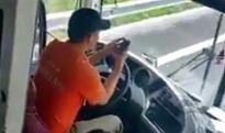 Những cái chết tức tưởi vì tài xế mải sử dụng điện thoại