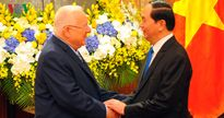 Toàn cảnh ngày đầu chuyến thăm Việt Nam của Tổng thống Israel