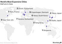 Châu Á thống trị tốp 5 thành phố đắt đỏ nhất thế giới