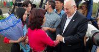 Tổng thống Israel tham quan Vịnh Hạ Long