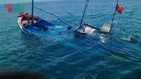 Tàu chìm, 6 người sống sót nhờ ôm can nhựa