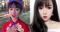 'Hot girl áo dài đỏ' nổi tiếng sau clip hát nhép vì quá xinh đẹp