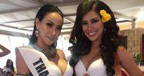 Cắt váy làm áo choàng, Nguyễn Thị Thành tiếp tục lọt top ở phần thi bikini