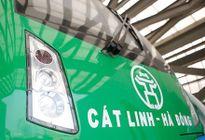 Cận hình ảnh mới nhất đoàn tàu đường sắt trên cao Cát Linh - Hà Đông