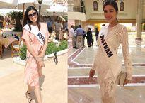 Gu thời trang giản dị của Nguyễn Thị Thành ở Miss Eco International