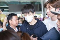 Nhóm nhạc Hàn Infinite được chào đón nồng nhiệt khi đến Việt Nam