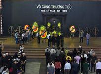 Dàn nghệ sĩ Việt rơi nước mắt trong đám tang NSƯT Duy Thanh