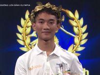 Nam sinh có 'cái đầu lạnh' nhất cuộc thi tuần Olympia