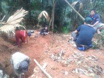 Thanh Hóa: Làm rõ vụ khai thác đá xanh trái phép