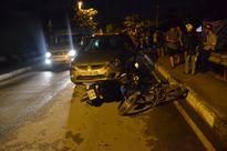 Xe 'điên' của người nước ngoài tông liên hoàn nhiều xe máy