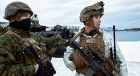 Lính Mỹ rét cóng khi tập trận gần biên giới với Nga