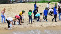 1.000 sinh viên gửi thông điệp 'không mang túi ni-lon đến Sơn Trà'