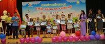 Tổ chức vui Tết thiếu nhi và tặng quà cho gần 400 bệnh nhi