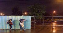 Nuối tiếc nhìn chợ đêm làng đại học chỉ còn lại bãi đất trống đìu hiu sau cơn mưa