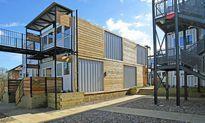 Nhà container cho người vô gia cư ở London