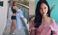Sao Hàn 12/6: Yoon Ah lộ vai trần trắng ngần, Hyo Min khoe S-line