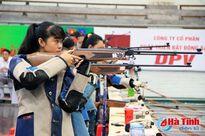 Hà Tĩnh giành 3 huy chương tại Giải súng hơi thanh thiếu niên quốc gia