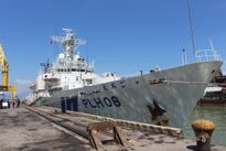 Tàu lực lượng bảo vệ bờ biển Nhật Bản chính thức cập cảng Tiên Sa