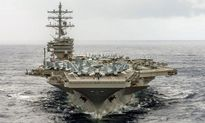Tàu sân bay Mỹ, Nhật hoàn thành diễn tập tại Biển Đông