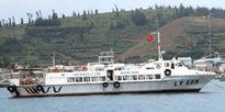 Cảnh sát theo tàu cao tốc 'hộ tống' đề thi ra đảo Lý Sơn